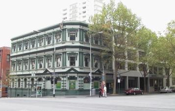 Celtic Club in Lonsdale St.