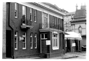 Women's venereal clinic as health department in 1973. Photo from State Library of Victoria.