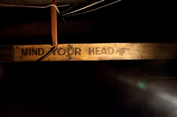 Attic - Edwardian pointing sign