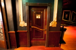 Auditorium bar door, next to lobby