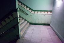 Hidden Stairwell.