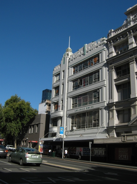 Lonsdale House shortly before demolition in 2010