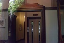 Alexandria Club, Collins St. 1937 concierge lobby