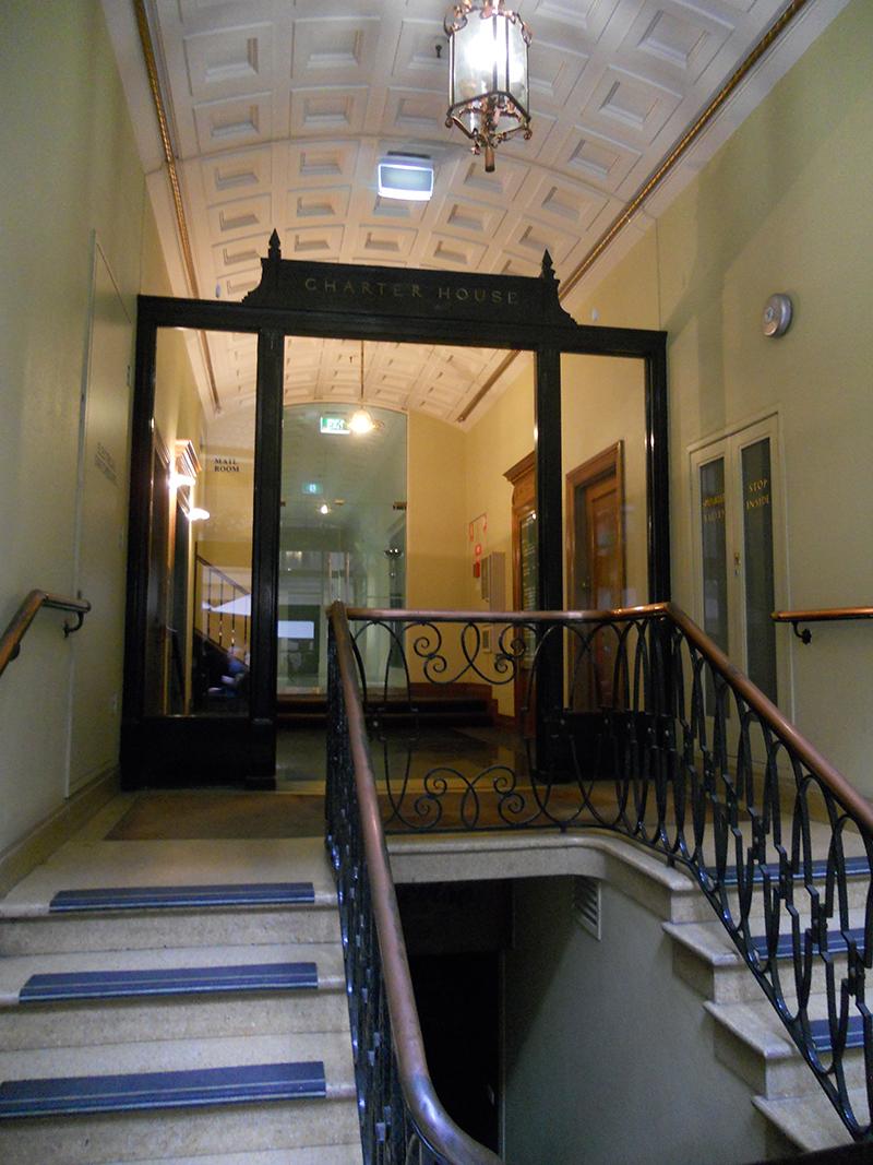 charter house 4 10 bank place bldg 1907 interior 1930s c grade