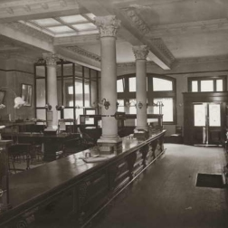 Huddart Parker insurance chamber, Collins St. as it looked in1908