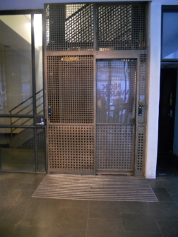 Lisscraft House lift-cage