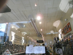 Thomas Records ceiling, Bourke St. 1906