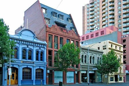La Trobe St Heritage Row in 2012