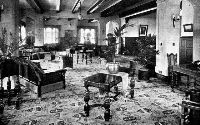 An old image of the interior