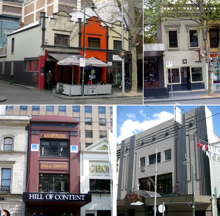 Heritage Buildings in the Bourke Hill Precinct