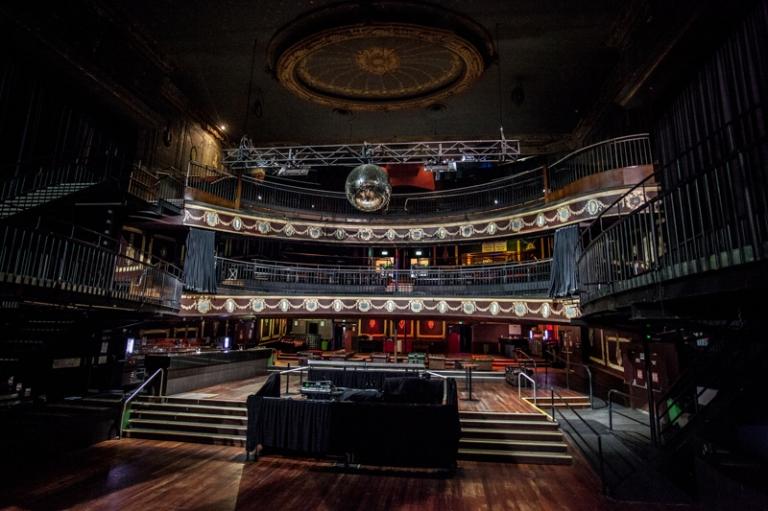 Palace Theatre Auditorium Balcony