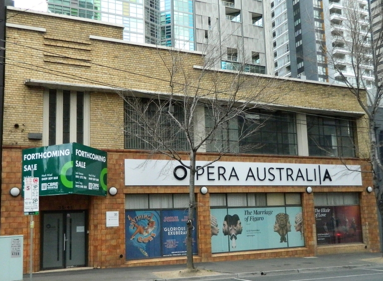 33 City Rd Opera Australia rehearsal space Southbank