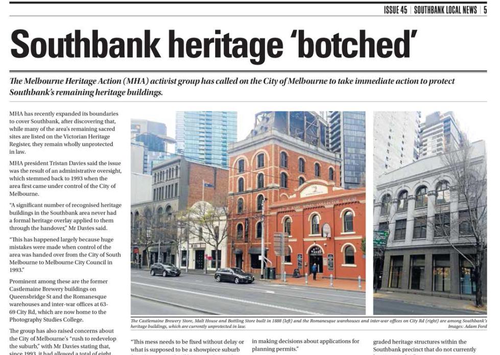 Southbank Local News