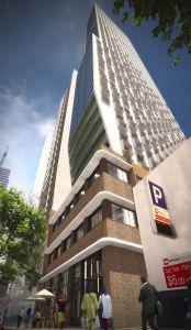 former Grange Lynne Building A'beckett street Melbourne modernism art deco