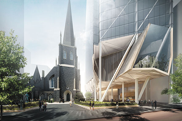 Proposed Wesley Church Development by Leighton Properties 2