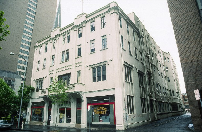 Princess Mary Club - Lonsdale Street facade in c1985