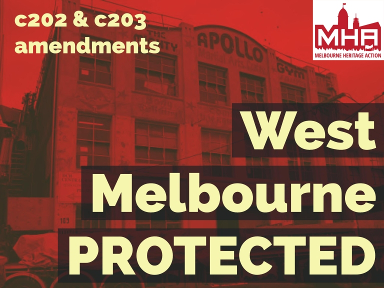 West Melbourne Heritage Protected