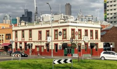 The Carlton Inn was built in 1859, extended to the left in 1888.