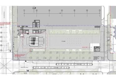 Draft plan for reconstructed City Square