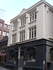 Bank of NSW 1924 architect unkown 137-139 Flinders Lane